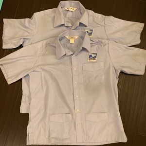 USPS postal office city carrier uniform /shirt